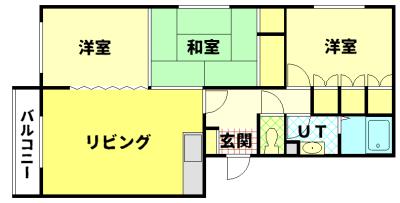 すみのい第1コーポ 205号室 写真2