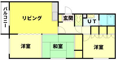 すみのい第1コーポ 101号室 写真2